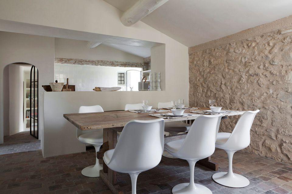 Cuisine semi ouverte sur salon, avec bar  les nouvelles idées House