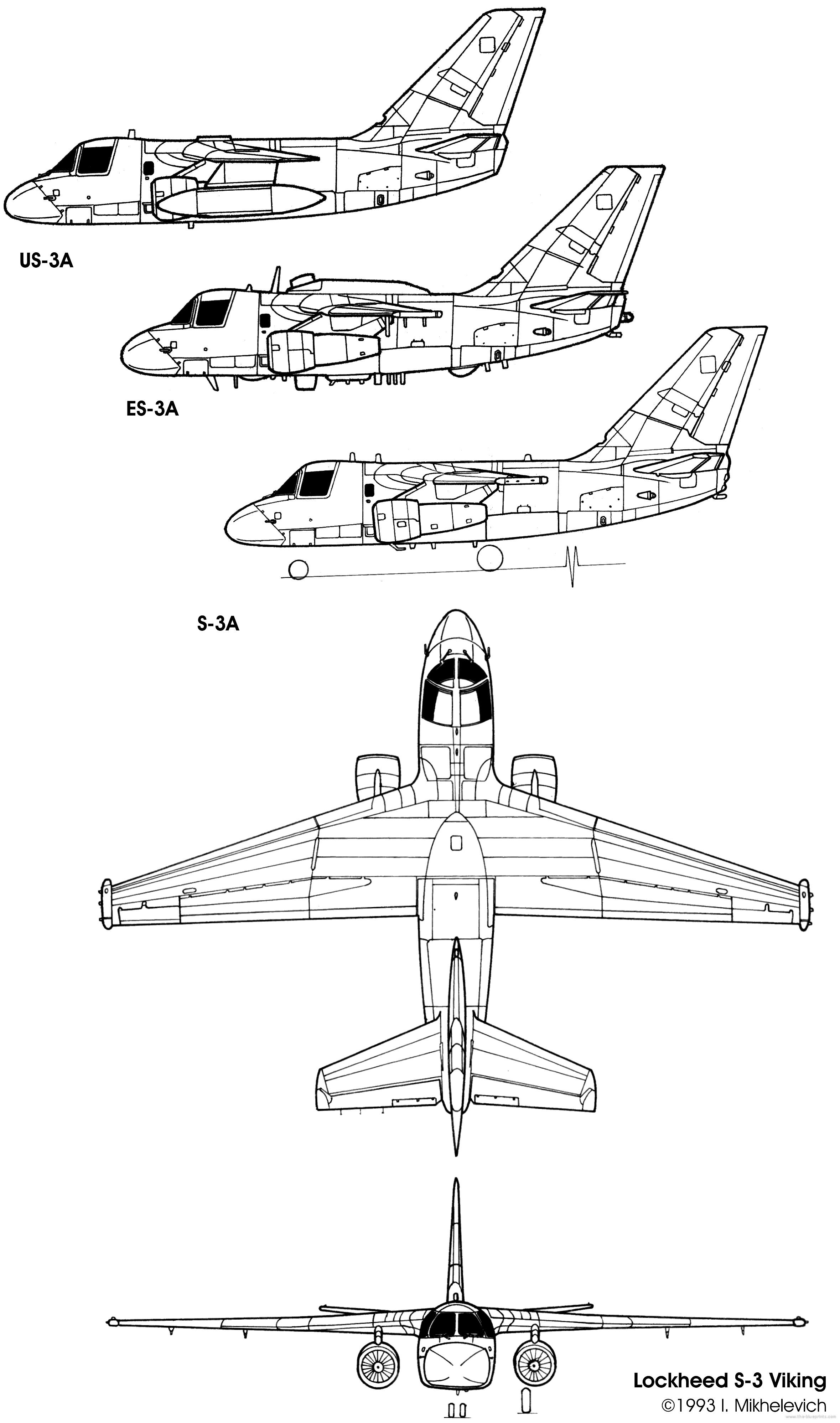Lockheed S 3 Viking
