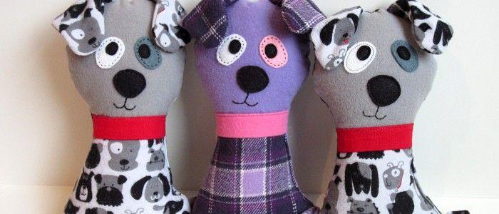 Stuffed Dog Sewing Pattern | Mini Pillows | Pinterest | Sewing ...
