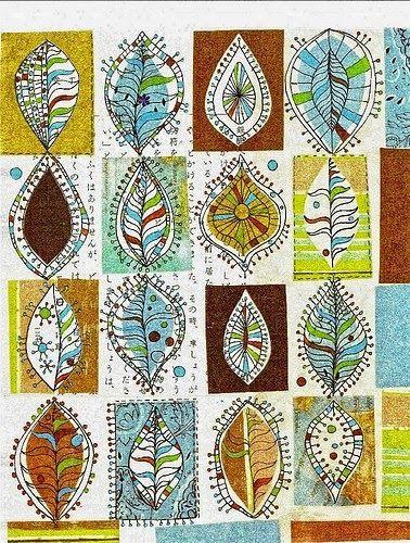 Le zentangle est un univers fantastique de motifs r p t s de formes enchev tr es et de po sie - Coloriage virtuel ...