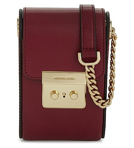 MICHAEL MICHAEL KORS Scout Leather Cross Body For Iphone 6