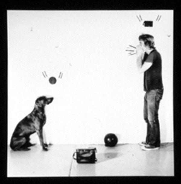 William Wegman, Ball and Ball Call, 1971