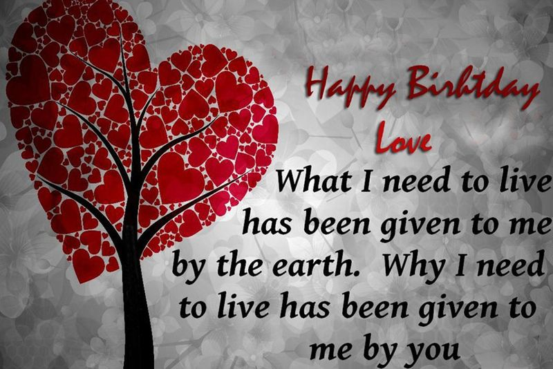 Happy Birthday Love Messages And Quotes Happy Birthday Love