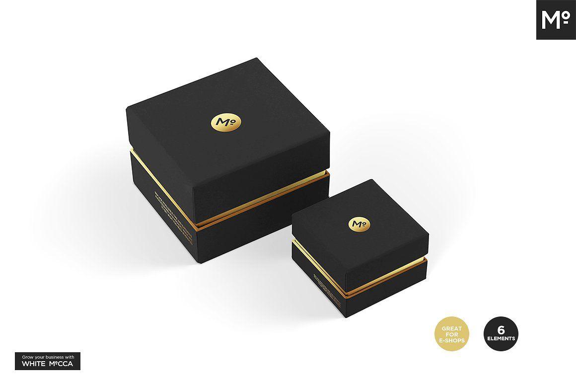 Download Jewelry Box Sets Mock Up Color Picker Boxset Jewelry Box