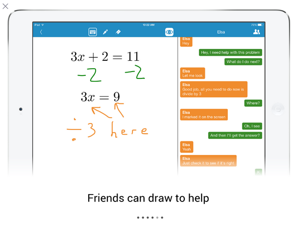 Math Chat Solve Problems Together In Real Time Free