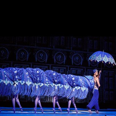 He Caterpillar In Alice S Adventure In Wonderland Choreographed By