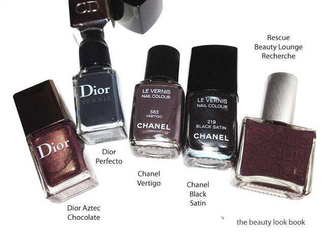 The Beauty Look Book: Chanel Vertigo #563 Le Vernis - Fall 2012