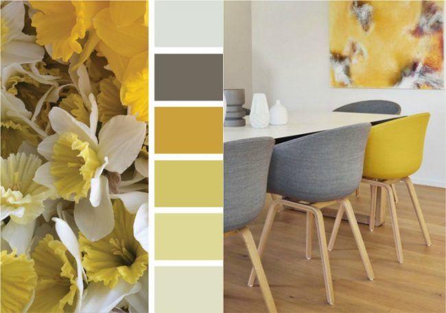 farbe ocker kombinieren - goldocker farbe des jahres 2016 im, Innenarchitektur ideen