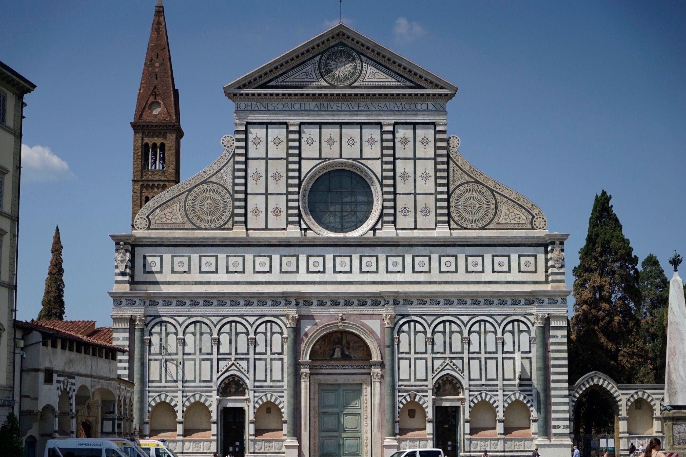 美の宝庫!フィレンツェ サンタ・マリア・ノヴェッラ教会