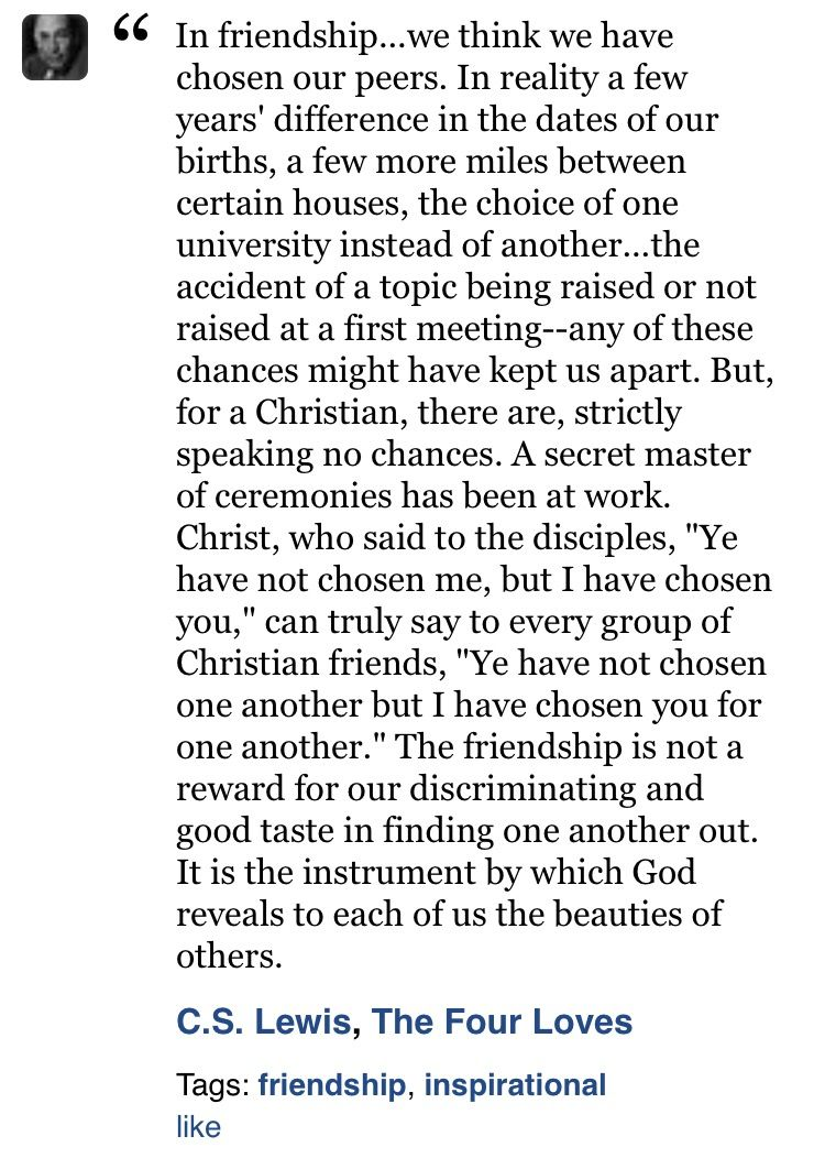 Cs Lewis Quote About Friendship Cs Lewis Christianity Quotes Friendship  Friends  Pinterest  Cs