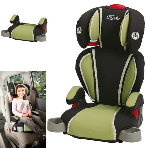 Booster To 80lbs 66694 Graco 1893811 Highback Turbobooster Safety Car Seat Go Green Kids Child It Now Only 40 On Ebay