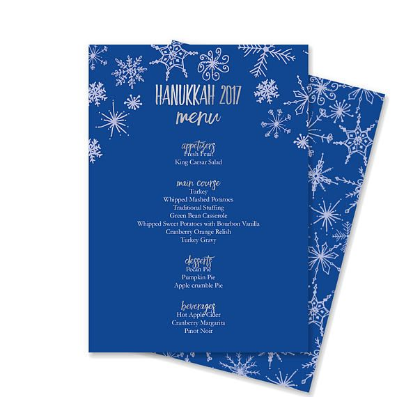 This Microsoft Word template makes creating your Hanukkah menu as - creating an invitation in word