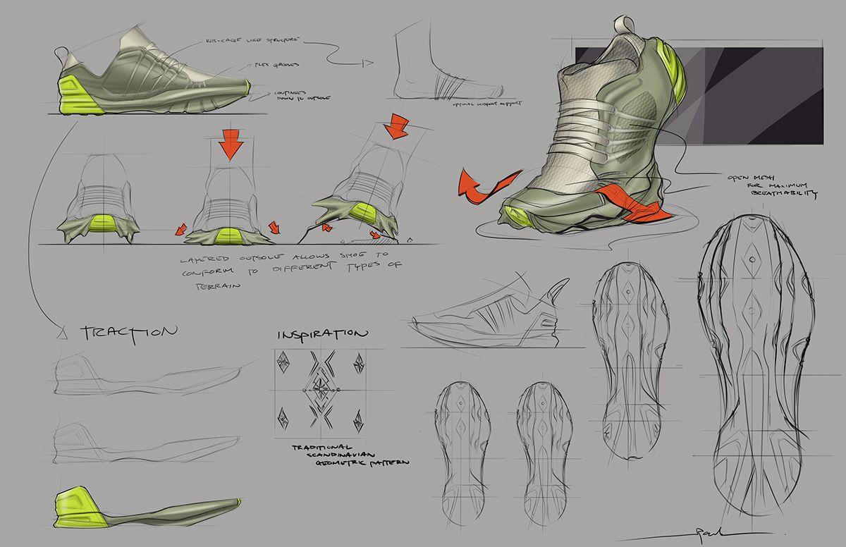 ARC'TERYX WIP hiking runner Zapatos concept WIP ARC'TERYX on Behance | Foot ee7863