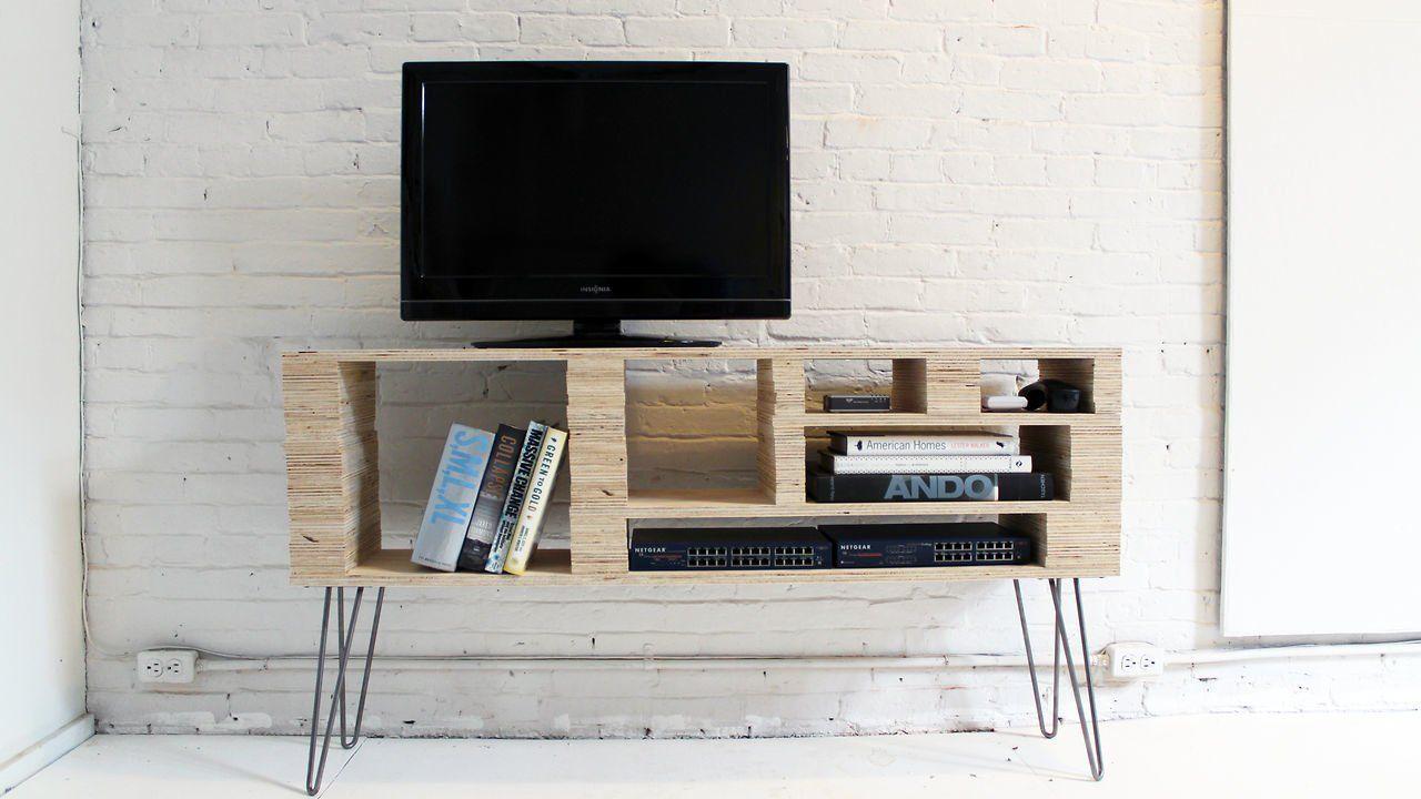 5 Home Depot Hacks Diy tv stand, Plywood sheets