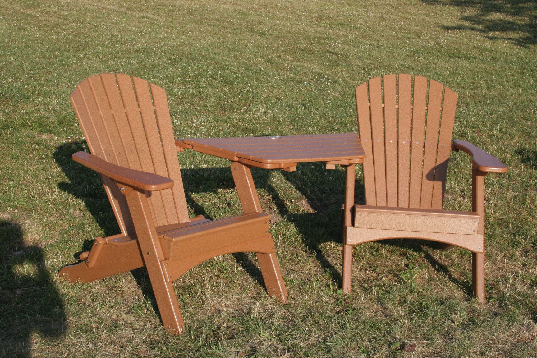 Perfect Choice Plastic Folding Adirondack Chair Resin