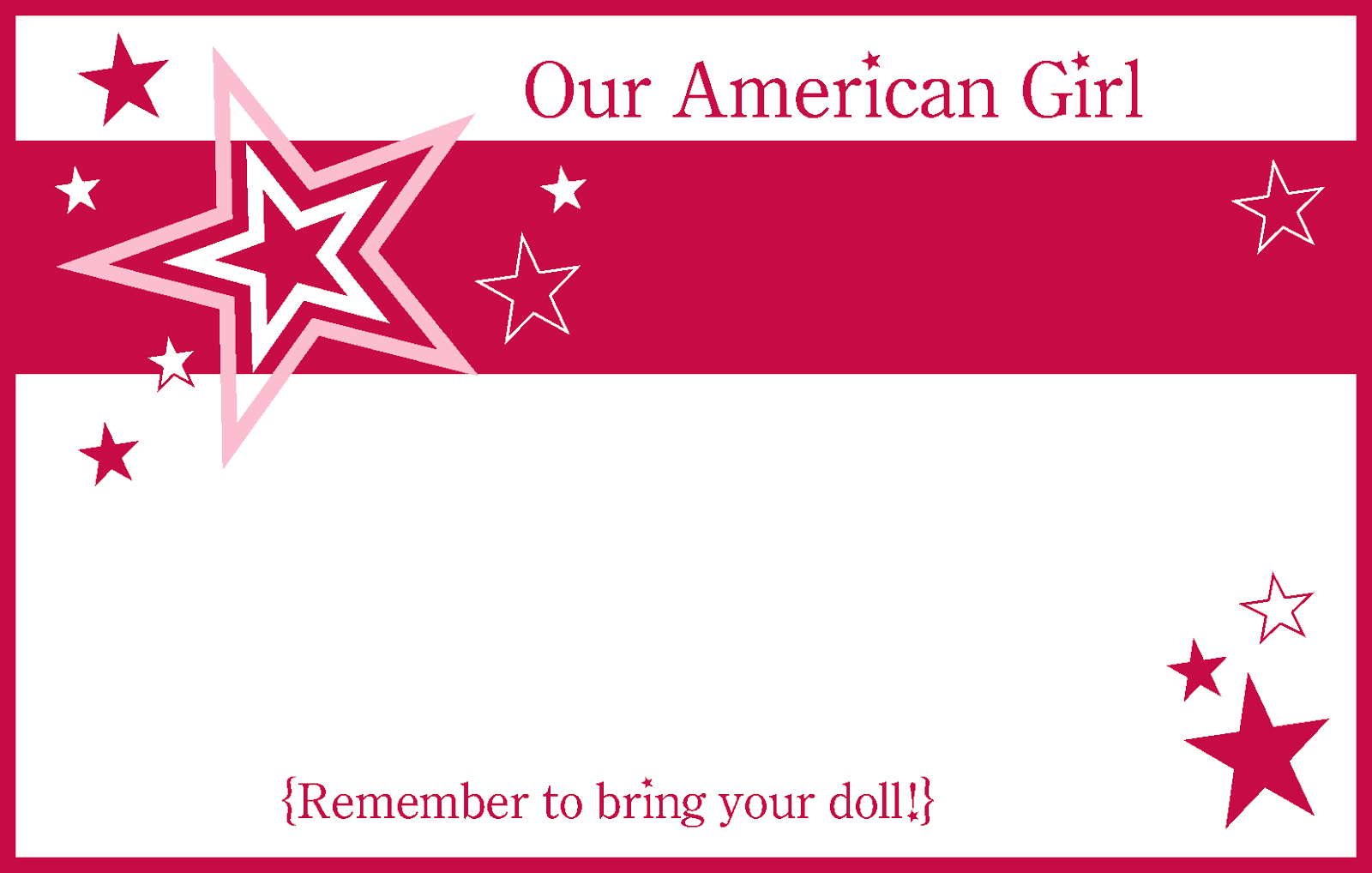 6 18 14american Girl Party Printablesamerican Girl Party Printables