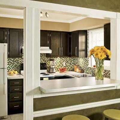 Kitchen Dining Room Remodel Glamorous The $967 Kitchen Remodel  Budgeting Kitchens And Load Bearing Wall Design Ideas