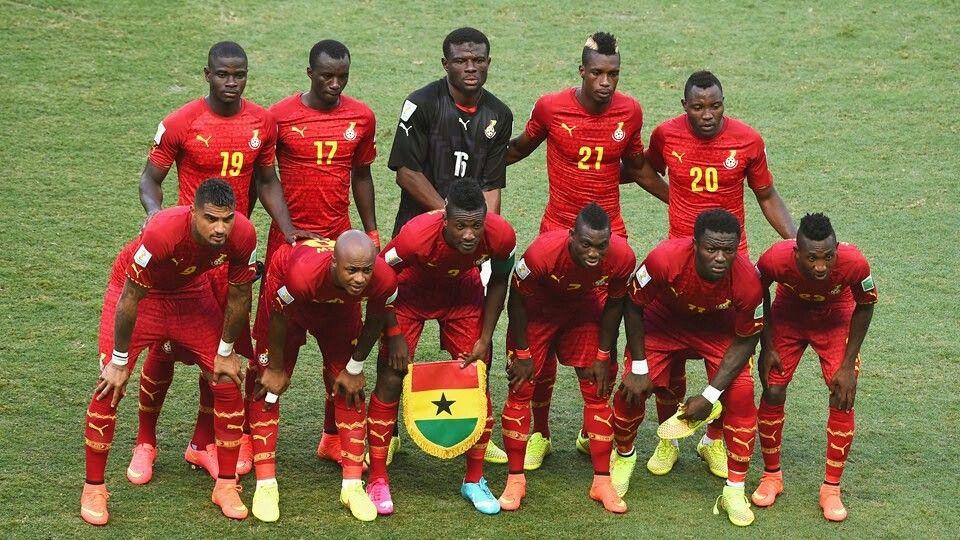 Selección de Ghana mundial de Brasil 2014
