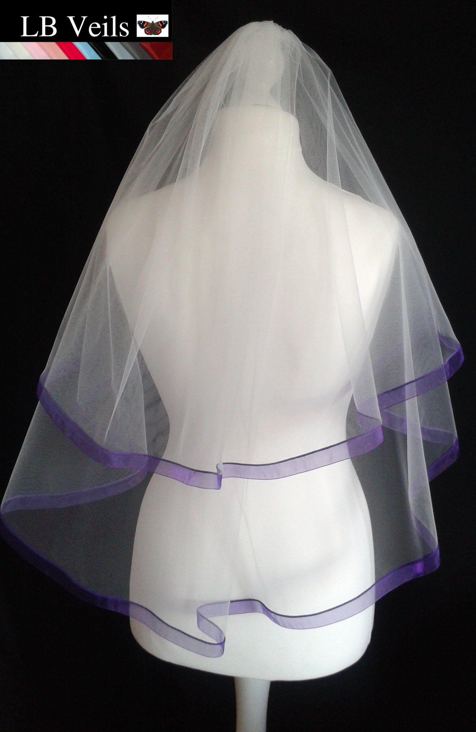 Diy Your Own Ultra Violet Veil Diy Wedding Shoes Green Wedding