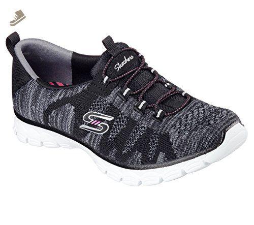 Skechers Damen Highlights Schuh  5.5 B(M) USBlack Gem