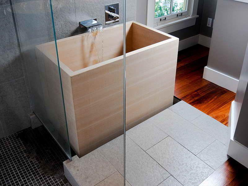 Japanese Soaking Tub Photo | bể bơi gỗ mini | Pinterest | Japanese ...