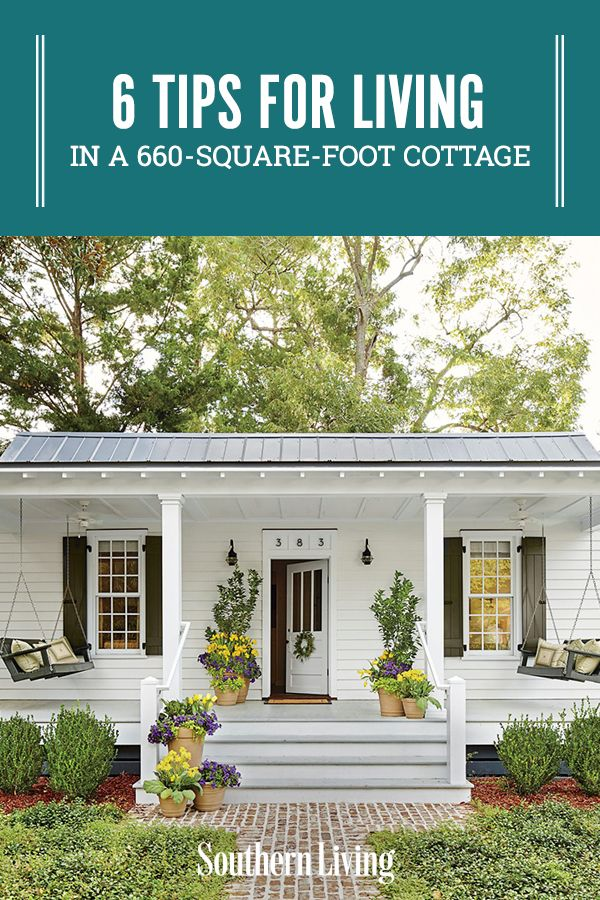 If you're finally looking to downsize here are some tips for remodeling after downsizing your home. #downsized #cottagedecor #smallspaceliving #southernliving