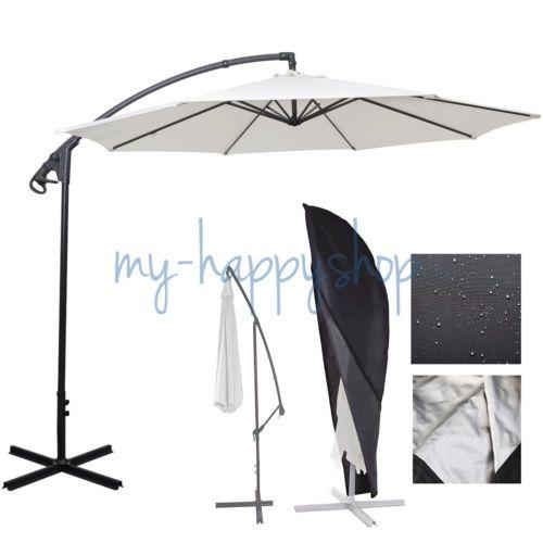 Waterproof Patio Outdoor Cantilever Umbrella Parasol Protective Canopy Cover Bag  sc 1 st  Pinterest & Waterproof Patio Outdoor Cantilever Umbrella Parasol Protective ...