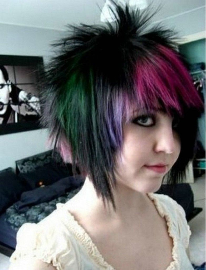 cute short emo hairstyles short hairstyle ideas photo