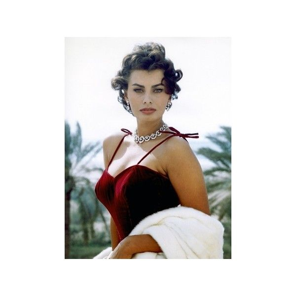 Sophia Loren Premium Poster ($13) ❤ liked on Polyvore featuring home, home decor and wall art
