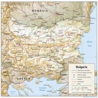 This Is About Harta Litoral Bulgaria The Coastline Map Of