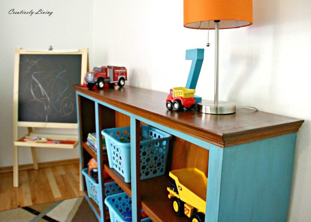 HUTCH TOP REPURPOSED Re Purposing A Dining Room Built In HutchInto