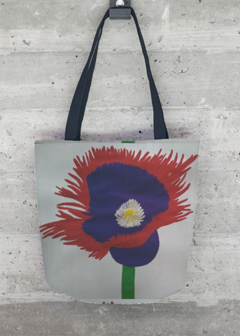Tote Bag - Ultraviolet Waves Tote1 by VIDA VIDA ZY7yDWRoM5