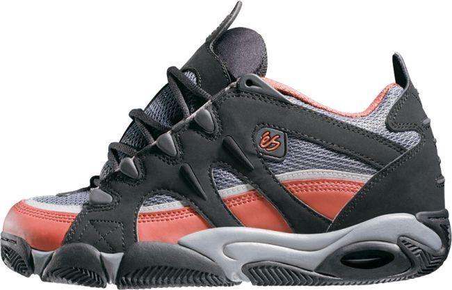 eS Shoes - Scheme - Black/Charcoal/Red