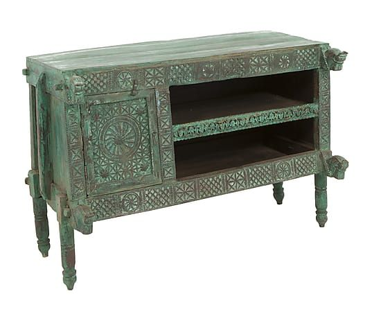 Kast Zavier Oud Groen H 88 Cm Passion 4 Cabinet Mobile
