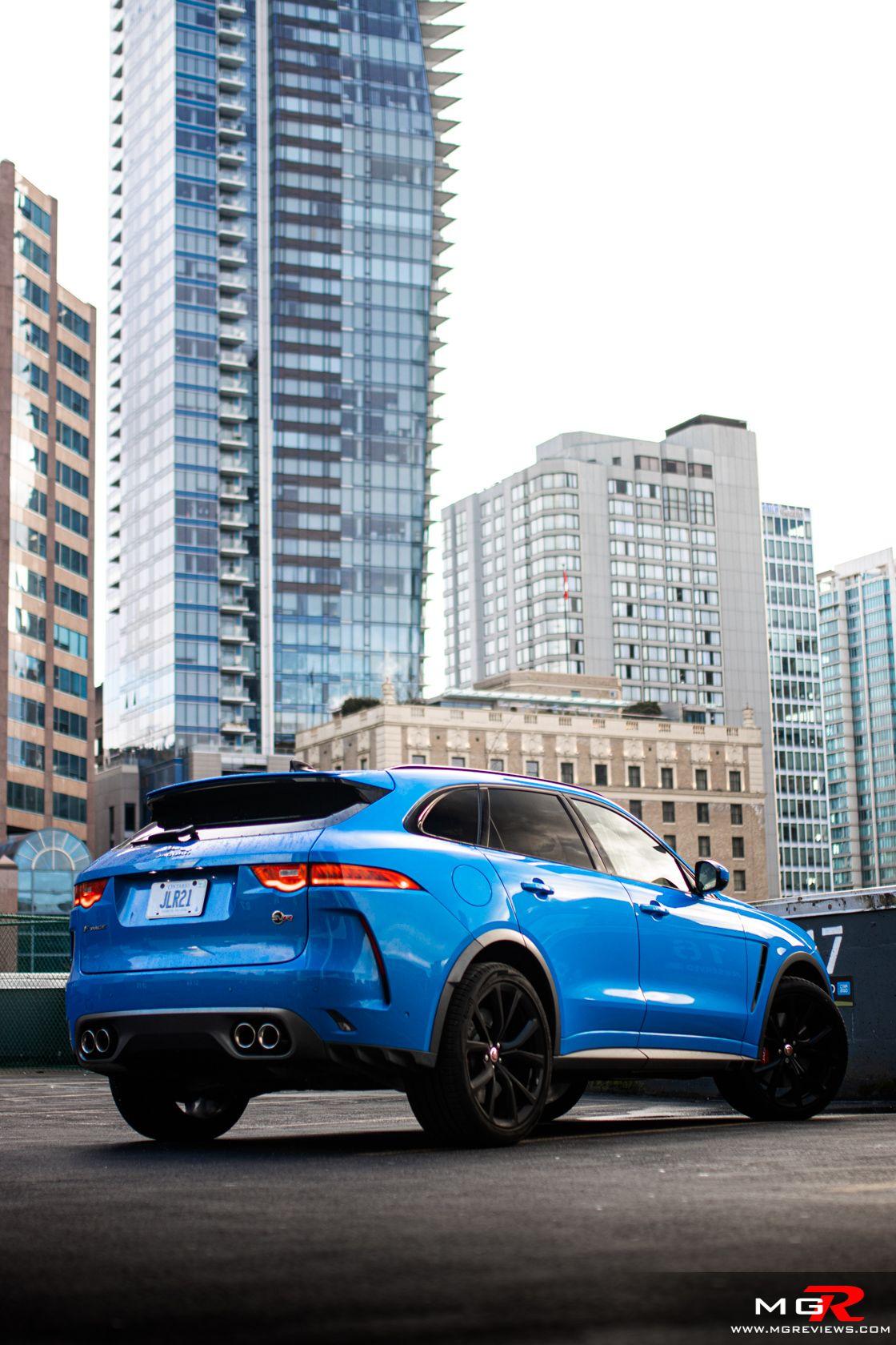 Review 2020 Jaguar F Pace Svr In 2020 Automotive Photography Jaguar Performance Engines