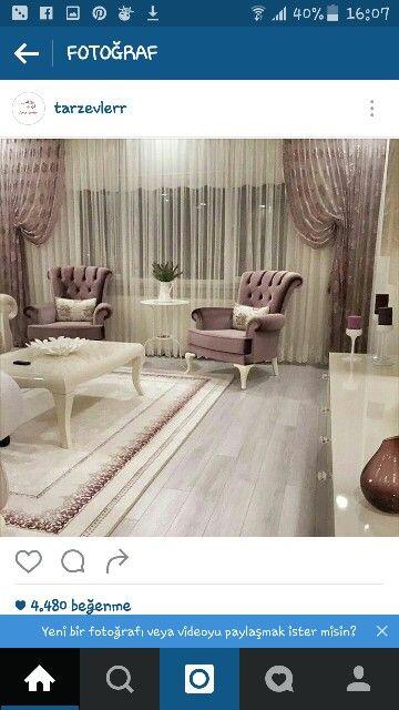 Gardinen, Romantik, Wohnzimmer, Wohnen, Luxus Schlafzimmer Design,  Luxusschlafzimmer, Elegante Gardinen, Wohnzimmer Ideen, Wohnzimmerentwürfe