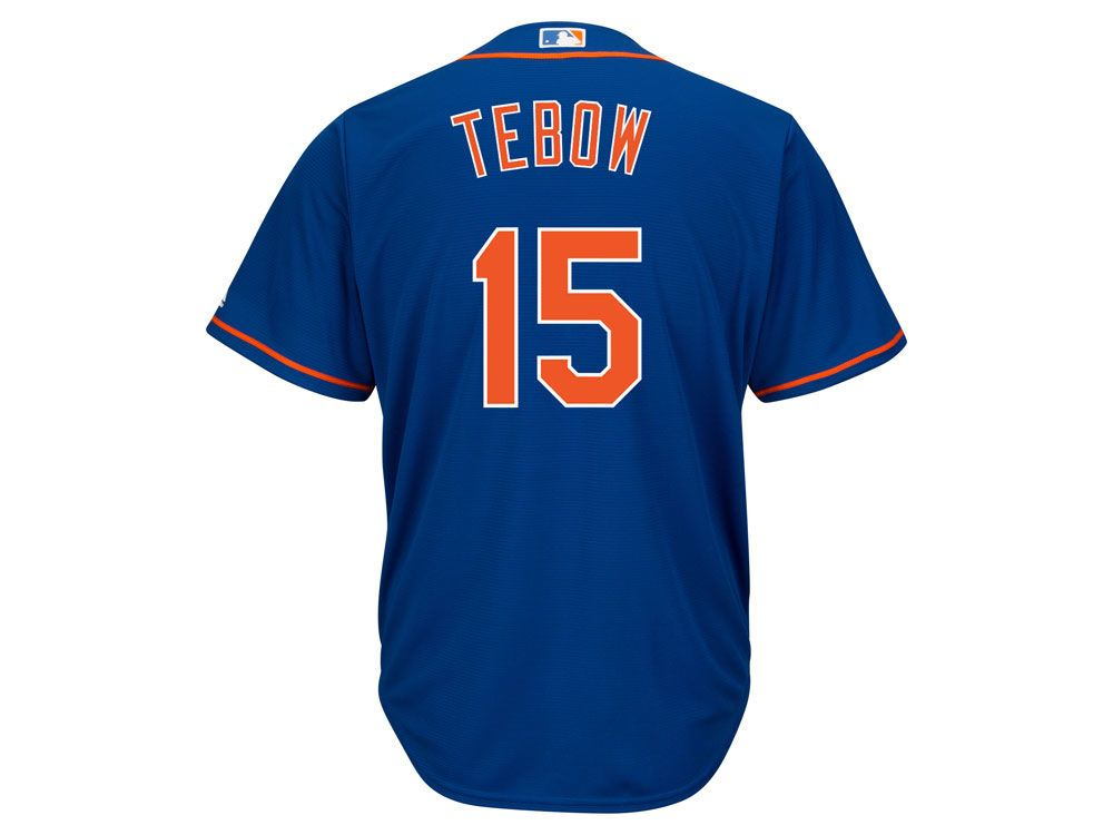 low priced 65f4a a1069 New York Mets Tim Tebow Majestic MLB Men's Player Replica ...