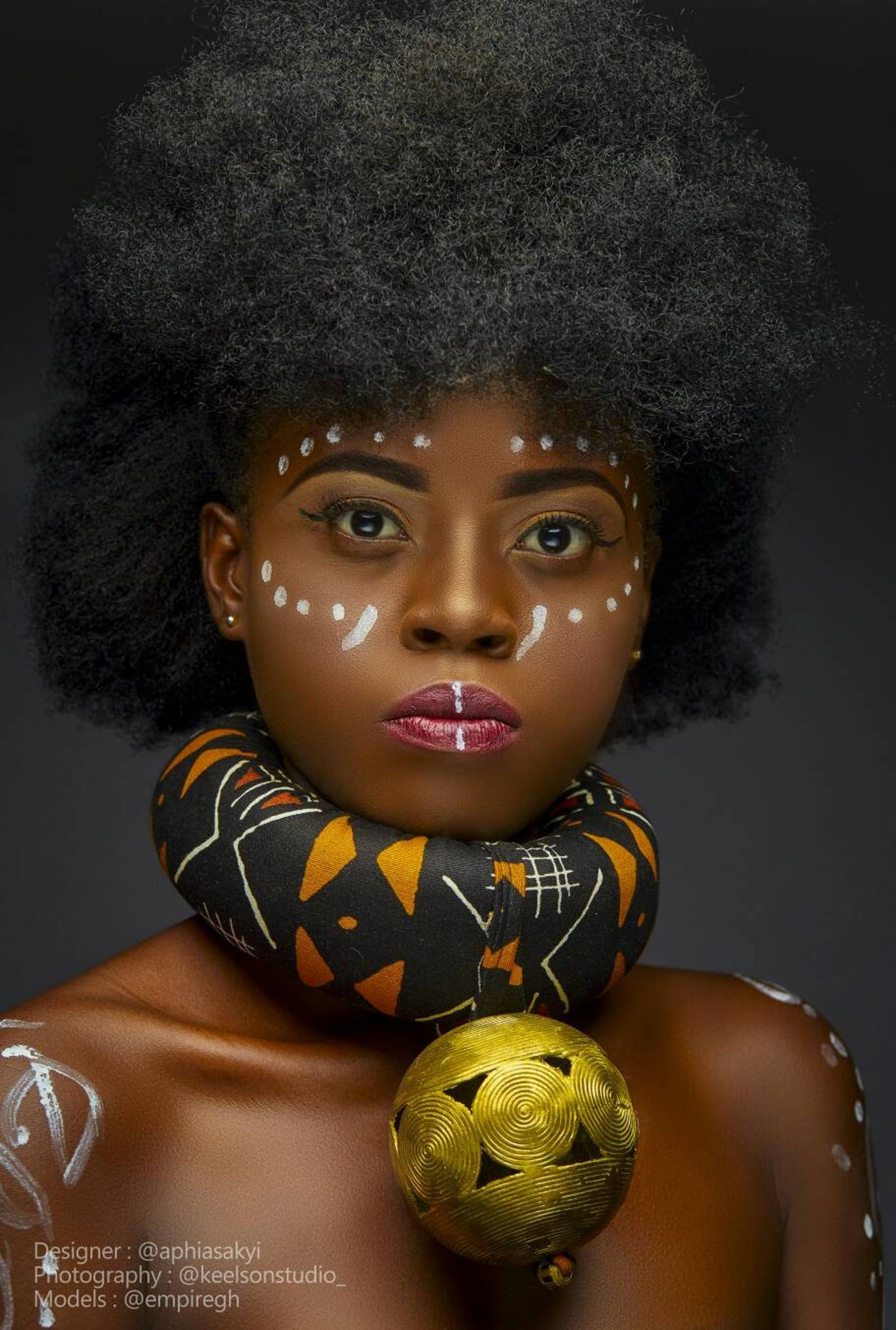 body accessories, African accessories, bold access