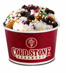 Coldstone Creamerys Birthday Cake Remix is probably my favorite ice