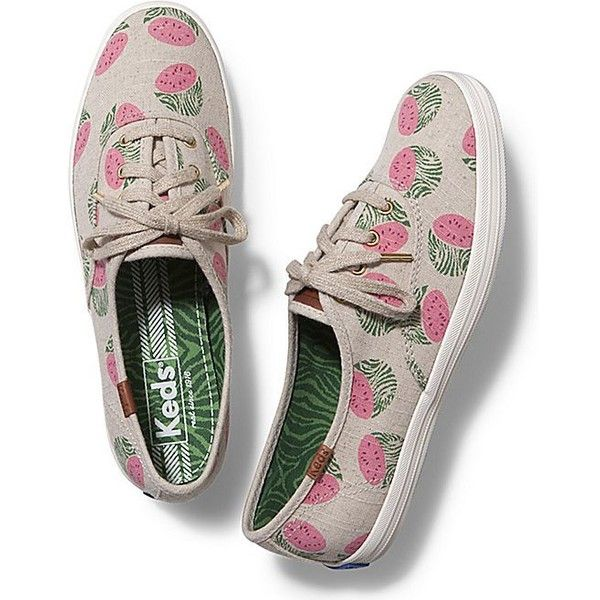 Shop Women\u0027s Keds Cream Pink size Sneakers at a discounted price at  Poshmark. Description: Rare Keds Watermelon Print Sneakers??New without  Box??Sz ...
