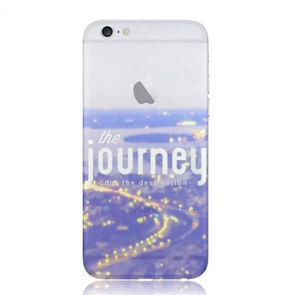2015 New Printed Design Transparent Soft Silicone TPU Cover Case For Apple iPhone 5S EC806