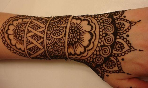 Plantillas de tatuajes de henna para manos buscar con for Henna para manos