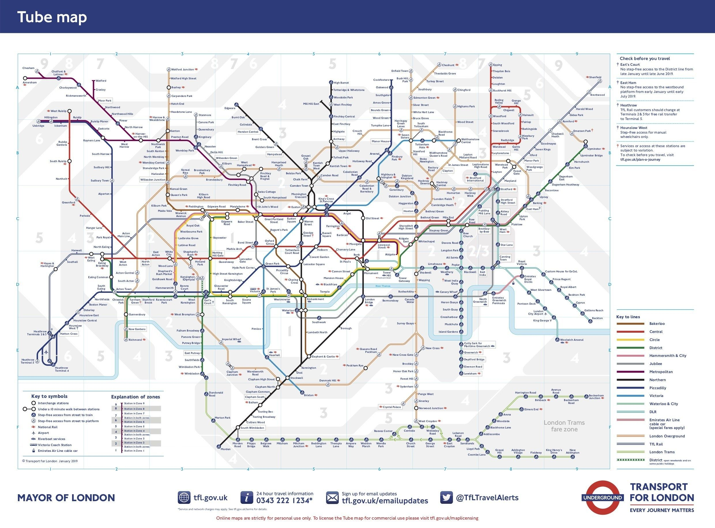 Image Result For London Underground Map Poster Framed