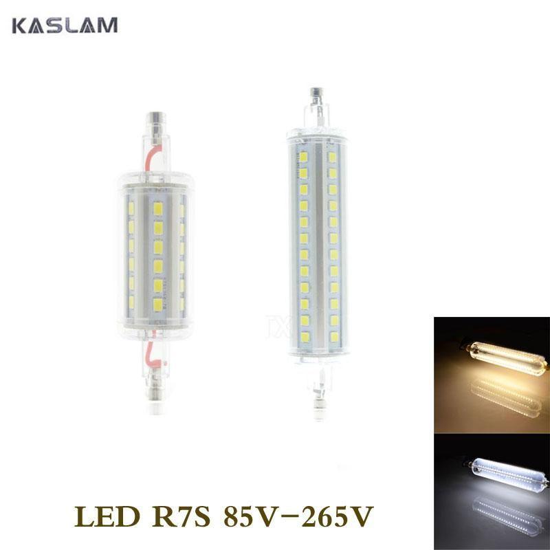 Lamparas No Dimmable R7s Led Corn Bulb 7w 15w R7s Led Lamp 78mm 118mm J78 J118 2835 Spot Light Replace Halogen Bombillas Yester Bulb Led Lamp Light Bulb