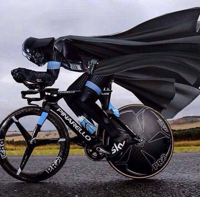 The Dark Side of Cycling? For more great pics, follow www.bikeengines.com