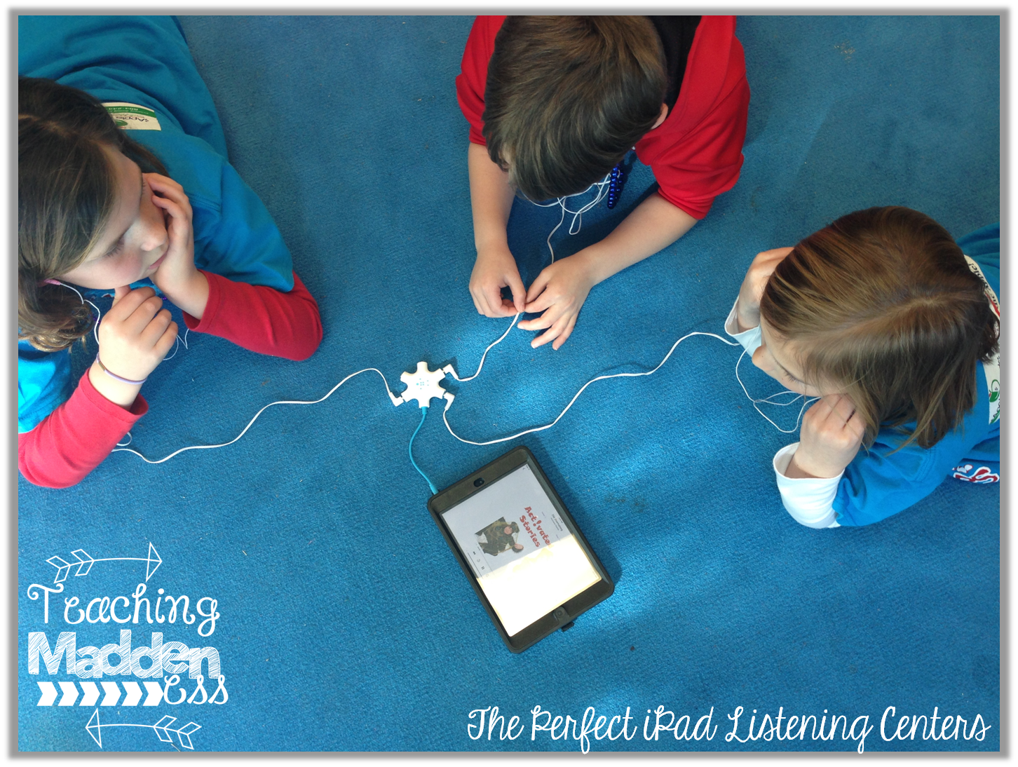 The Perfect Listening Center With Ipads