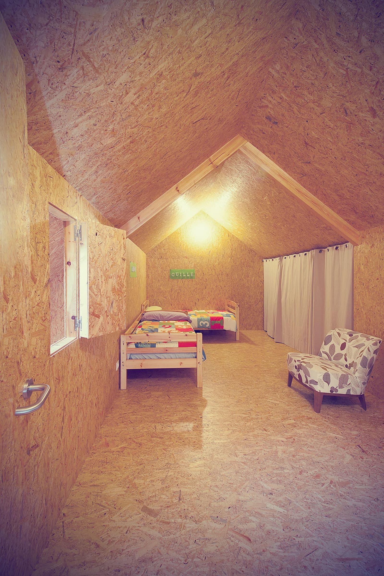 Osb Wand soma arquitectura pablo mella osb house combles