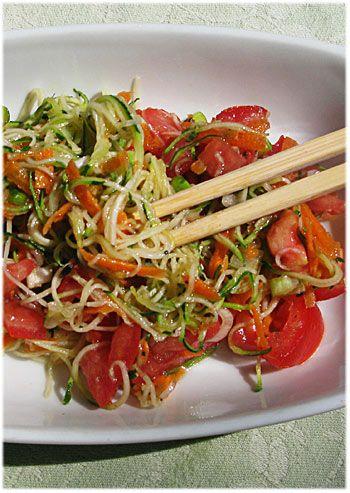 Raw food weekend zucchini pasta salad with lime dressing i like raw food weekend zucchini pasta salad with lime dressing forumfinder Gallery