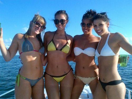 bikinis girls college