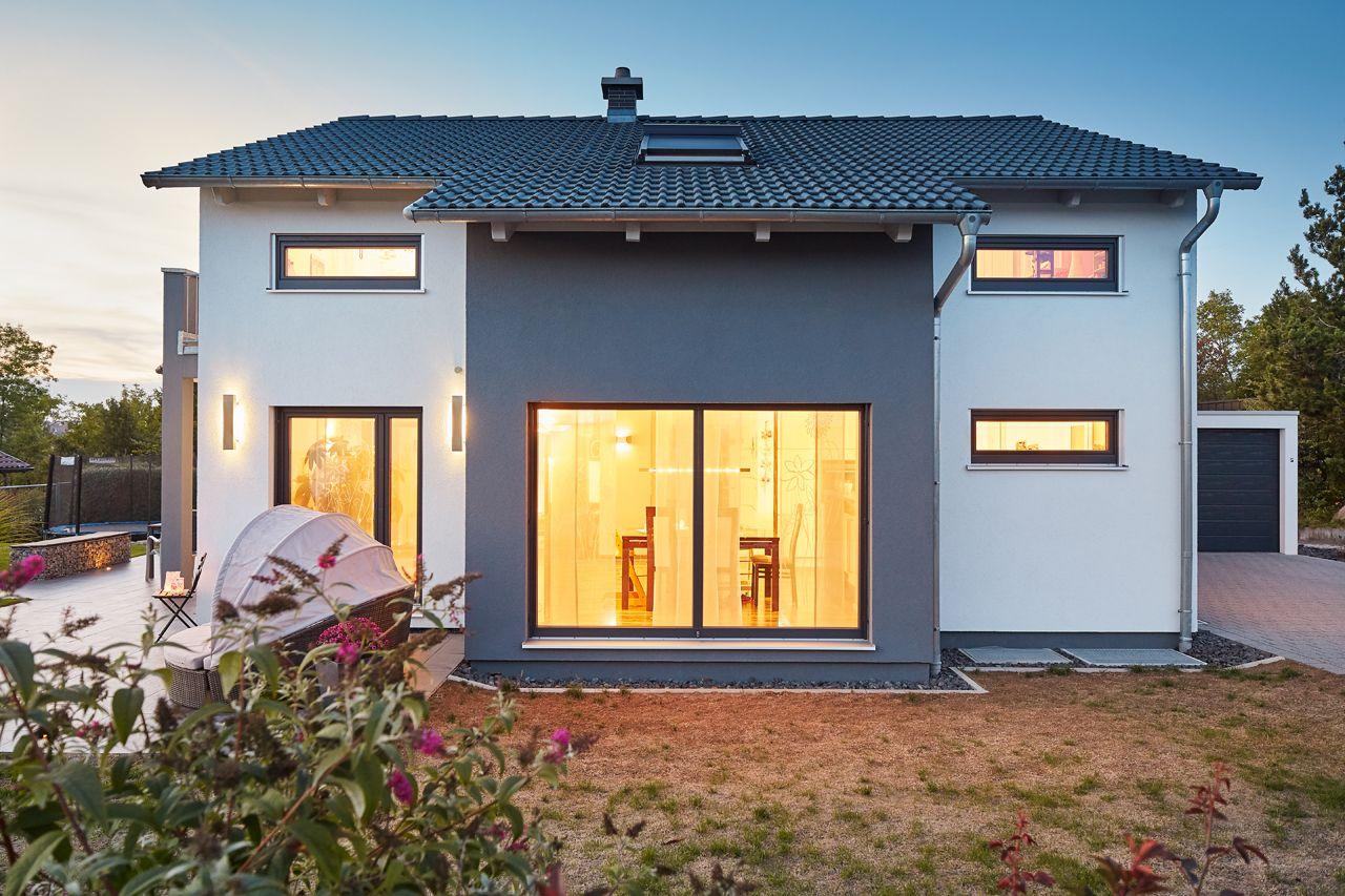 Satteldach Landhaus 143   Häuser   Pinterest   Satteldach ...
